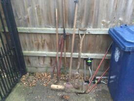 Collection of Garden Tools