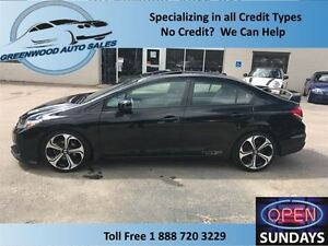 2013 Honda Civic SI, AC, CRUISE, NAVI, BACK UP CAM, SUNROOF