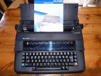 Sharp Electronic Typewriter