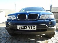 BMW X5 3.0 Diesel Injector system problem (drivable)
