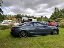 Audi A5 coupe V6tdi quattro airlift airride modified showcar