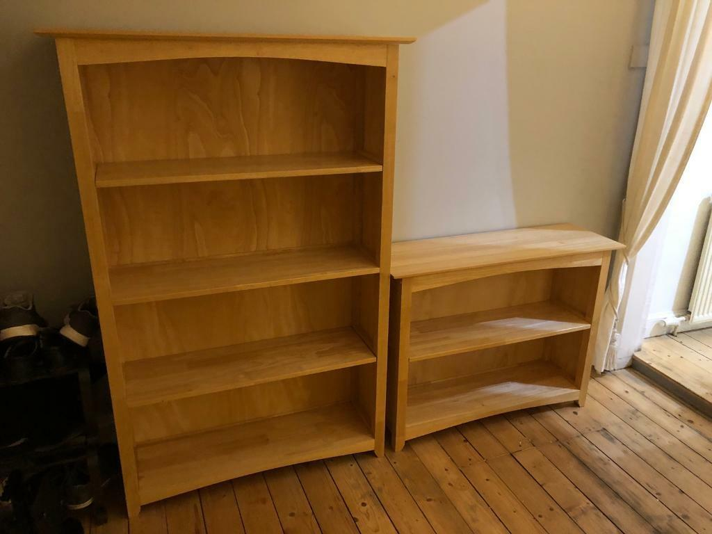 e0e19fe30811 John Lewis Solid Wood shelving units / Book cases (x2) | in Clarkston ...