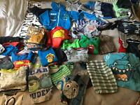 Large bundle of boys clothes 3-4 years