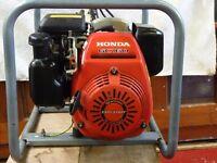 Honda Petrol Generator EC2100C 250 volt easy start