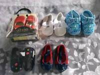 Baby shoes bundle 0-3 months