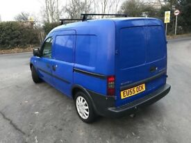 2005 55 VAUXHALL COMBO 1.3 CDTI Blue (115,000 miles) ** Air con ** Side loading Long mot! High spec!