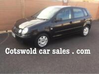2005-54 vw polo S 1.4 automatic 42000 miles!!black 5 doors