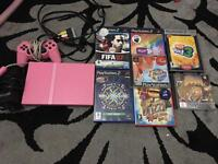 Rare limited edition pink slim ps2