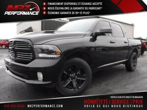 2015 Dodge Ram 1500 Sport R/T Black Edition Crew Cab FULL Cuir T