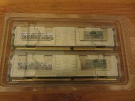 HP Geniune Memory for DL 580 G5 16GB (4x4GB)