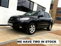 2007   Hyundai Santa Fe 2.2 Diesel Automatic CRTD 155 CDX 7 SEAT   Leather   7 Seat   2 IN STOCK