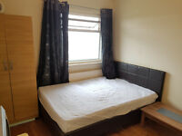 A double room near to Upton Park Tube station