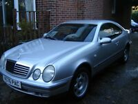 mercedes benz clk230 kompressor sport coupe 3 door , immaculate all round,