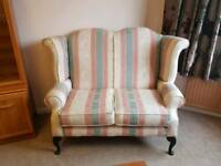 2 Piece Wing Back 2 Seater & Chair