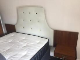 Vintage retro g plan headboard for double bed