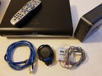 Sky HD Box with broadband router