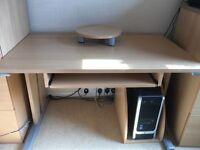 Beech effect desk for sale