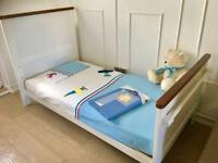 High Quality Toddler / Junior Cot Bed With Extras & Sprung Mattress.
