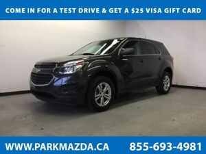2016 Chevrolet Equinox LS AWD - Bluetooth, Backup Cam, Aux Input