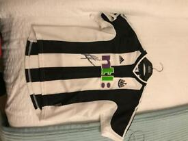 Alan Shearer signed Newcastle Shirt