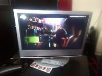 "SONY 26"" FREEVIEW HDMI PC SCART STAND AND REMOTE"