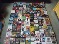 Job lot of 100 + mixed titled individual DVDs pre owned