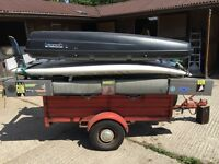 Windsurfing Trailer