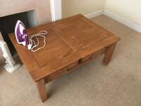 Wooden coffee table (solid)