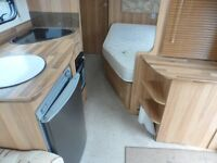 BAILEY ORION 430 - 4 BERTH TOURING CARAVAN - 2011 - AWNING INC - FIXED BED - NOW REDUCED COASTFIELDS