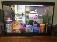 68 LITRE GLASS FISH TANK-EVERYTHING YOU NEED + MORE