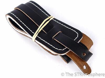 USA Fender Vintage RI Leather GUITAR STRAP Strat Tele Stratocaster Telecaster