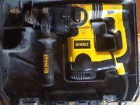 DEWALT D25323 SDS 240V HAMMER DRILL