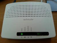 Wireless Broadband Router - Technicolour TG582n Pro - Utility Warehouse