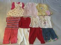 Girls Baby Clothes Bundle (0-3 Months)