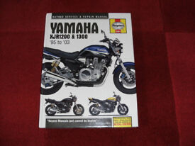 FOR SALE HAYNES YAMAHA XJR1200 & 1300 MANUAL