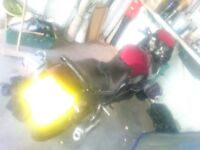 GSX600F project for a cool streetfighter