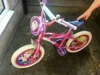 Girls Disney Bike