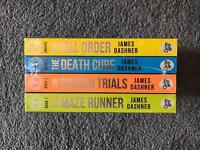 FOUR SCORCH TRIAL BOOKS. BRAND NEW
