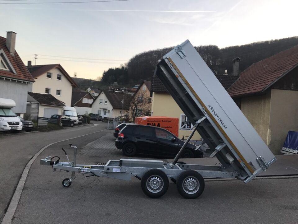 Kippanhänger Anhänger PKW Anhänger 3 Seitenkipper Rückwärtskipper in Mühlhausen im Täle
