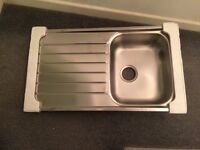 Franke 101.0331.024 SKX 611-86 Stainless Steel Single Bowl Kitchen Sink