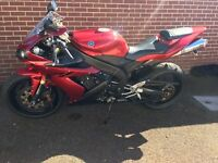 Yamaha r1 2006 only 1 previous owner