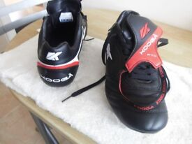 KOOGA FTX RUGBY BOOTS ADULT SIZE 9. NEW