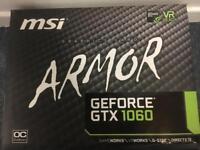 MSI Armor GTX 1060 6GB graphics card