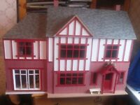 Oak Hurst dolls house