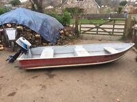 Aluminium sea nymph boat