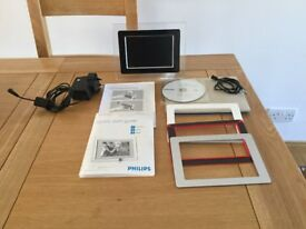 "7"" Phillips Digital Photo Frame"