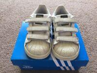 Adidas Superstar White Size 6
