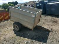 Quad atv tfm trailer suit farm stables logs etc