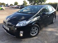 TOYOTA PRIUS 1.8 VVTI = LEATHER SEATS = AUTOMATIC = 2011 = 61 REG = PCO UBER = £8150 ONLY =