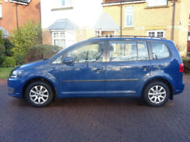 VOLKSWAGEN TOURAN 1.6 S TDI 5d 106 BHP TIMING BELT & WATER PUMP CHANGED + FULL SERVICE RECORD ++